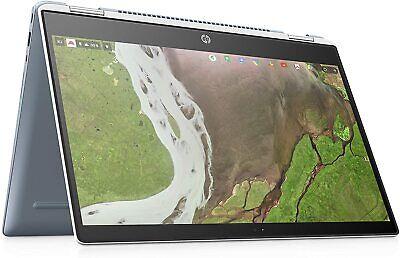 "HP x360 Chromebook, Intel Core i3, 8GB RAM, 64GB eMMC, 14"" Full HD Touch Screen"