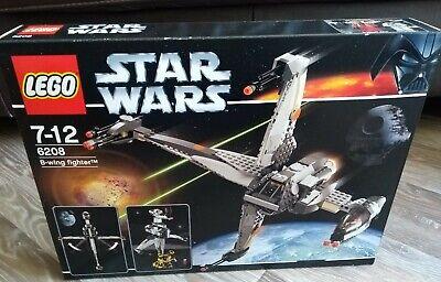 Lego Star Wars 6208 B-wing Fighter, New Sealed, Mint Box