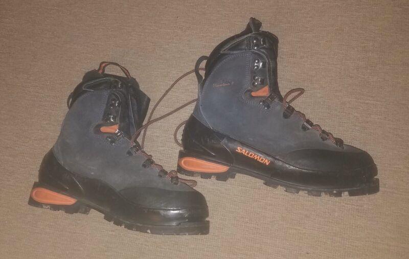 Salomon Super Mountain 9 Italy Men Sz 7, Womens Sz 8 Waterproof Climbing Boots