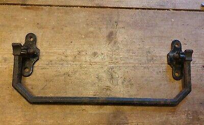 Old cast iron pew rail/umbrella/towel rail