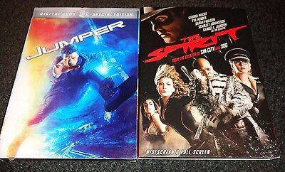 Jumper   The Spirit 2 Movies Samuel L Jackson  Hayden Christensen  Diane Lane