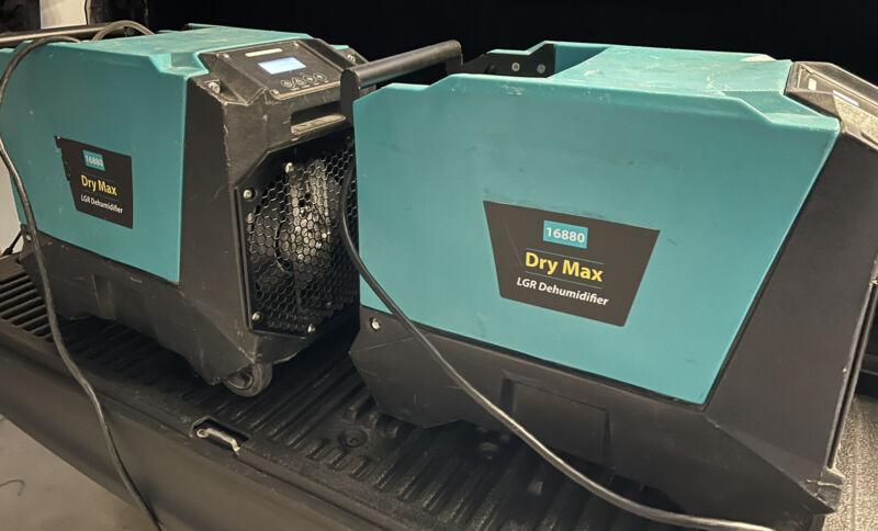 Two Phoenix Dry Max LGR Commercial Dehumidifier Lot