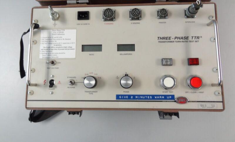 BIDDLE THREE-PHASE TRANSFORMER TURN RATIO TEST SET 550100