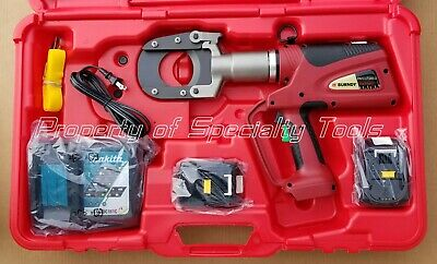 Burndy Patriot Patcut245li Battery Powered Hydraulic Cable Wire Cutter Tool