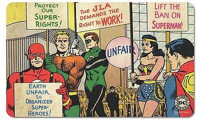 DC Comics: Helden - Justice League - Super Rights Frühstücksbrettchen, LOGOSHIRT (Dc Comics Superhelden)