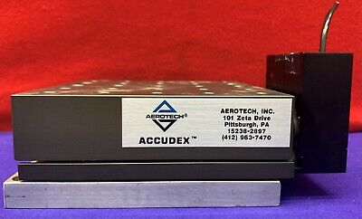 Aerotech Accudex Linear Motor Drive Precision Stage Ats0300 Series Ats03005