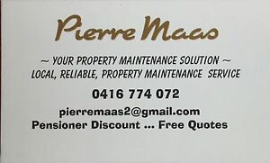 Pierre Maas Tuart Hill Stirling Area Preview