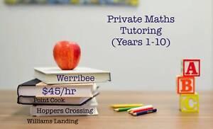 Maths Tutoring (Years 1 - 10)
