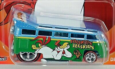 2013 Hot Wheels Looney Tunes Foghorn Leghorn Volkswagen T1 Drag Bus