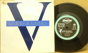 VIRGIN-DANCE-Are-You-Ready-7-Single-Vinyl-Record-45rpm-Spartan-1984