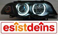 3er BMW E46 Limo+Touring CCFL Scheinwerfer Set Bj.98-01 Schwarz Kreis Pinneberg - Quickborn Vorschau