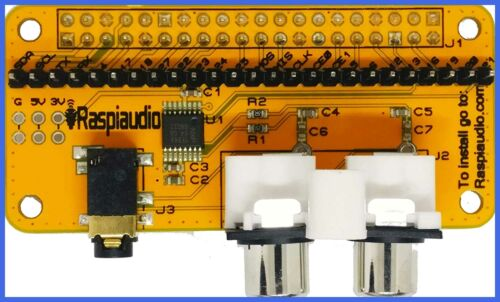 RASPIAUDIO.COM Audio DAC HAT Sound Card  for Raspberry Pi Ze