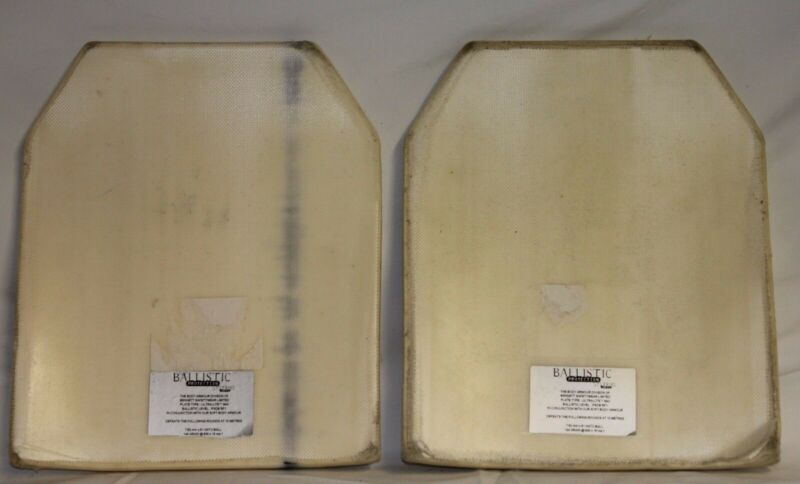 Ballistic Protection Systems RF1 Plates For Stab Vest Upgrade NIJ SAPI Grade B