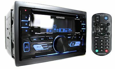 Kenwood Double Din Cd Player Usb Aux Car Audio Stereo Radio Receiver   Dpx302u