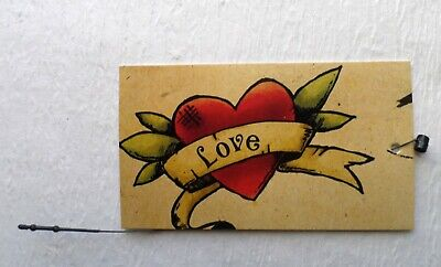100 Boutique Tags Accessories Tags Cute Love Heart 2 Clothing Tags W Loops