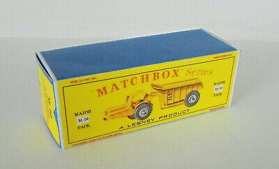 Repro box Matchbox major Pack m-10 Whitlock Dinkum Dumper