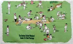 Australia Cricket Tea Towel The Serious Cricket Watches Guide To Field Placings
