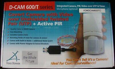Video Domain D-Cam 600/TC Color Integrated PIR Camera - Integrated Color Camera