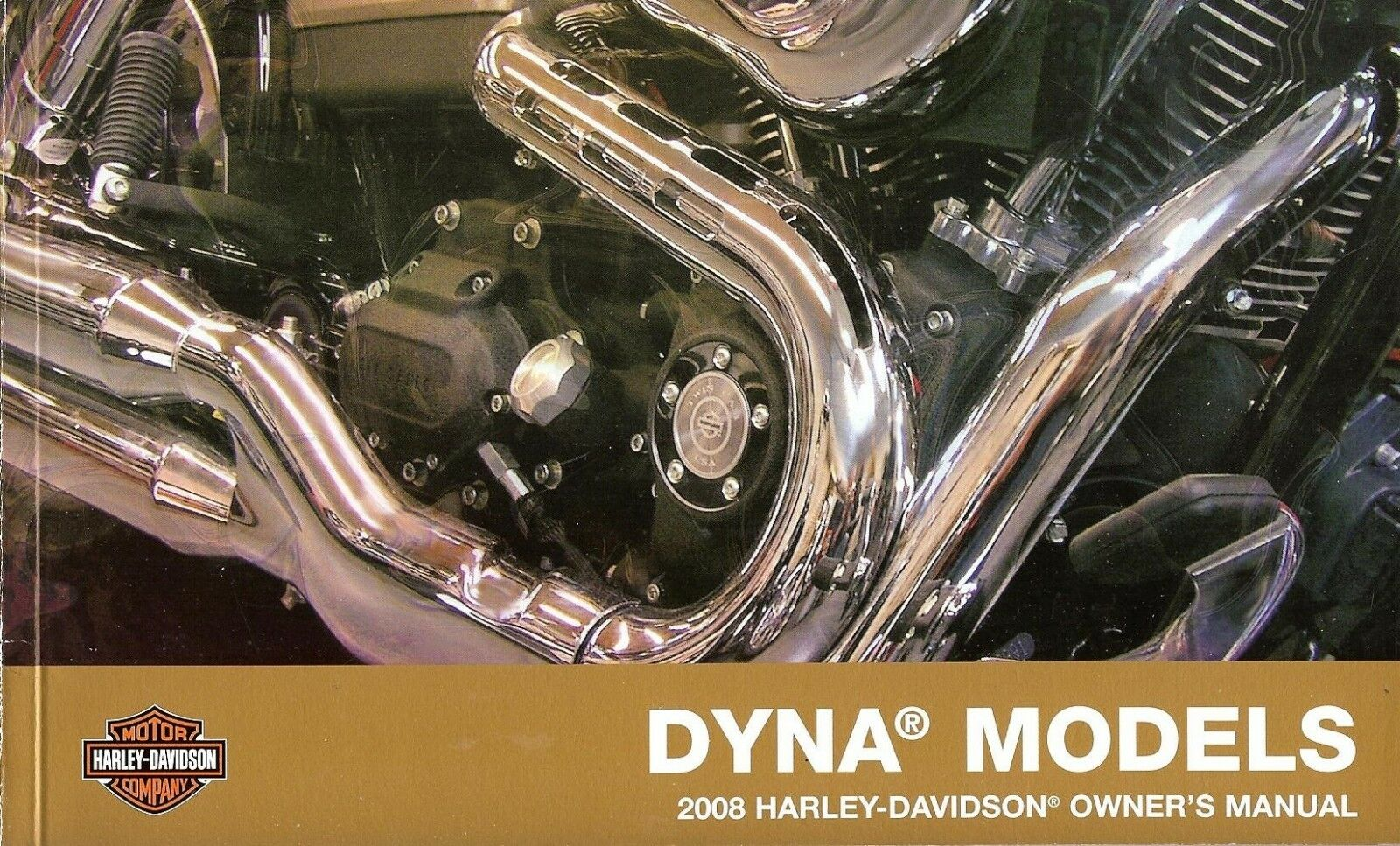 2008 HARLEY-DAVIDSON DYNA OWNERS MANUAL -FXDWG-FXD-FXDB-FXDC-FXDL