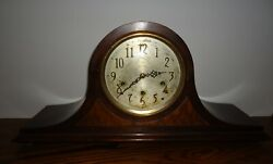 Antique SETH THOMAS 124 Series 8 Day Westminster Chime Mantel Shelf Clock Works