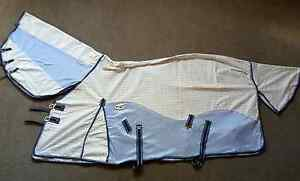 """2 x 6'3"""" Caribu Hybrid Mesh/Cotton Ripstop Neck Combo Horse Rugs Nerang Gold Coast West Preview"""