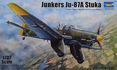 TRUMPETER® 03213 Junkers Ju-87A Stuka in 1:32