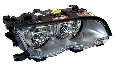BMW E46 HALOGEN HEADLAMP, RIGHT (Ti Bezel 330Ci 2001) OEM AL LUS5141 63126908228, used for sale  Shipping to Canada