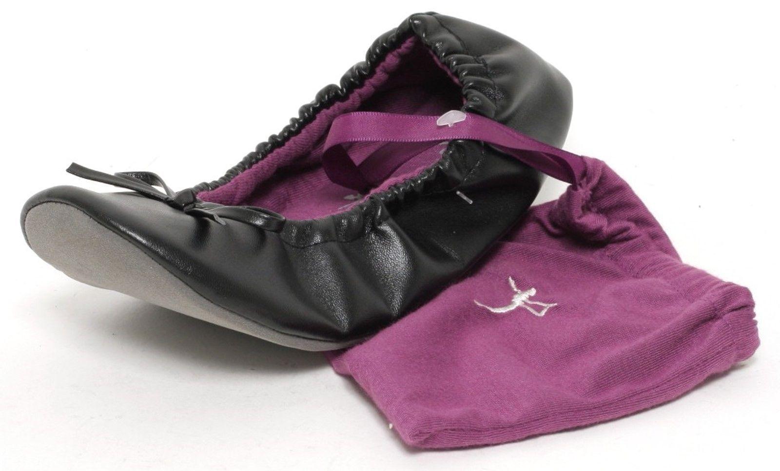 Damen Ballerina faltbare Yoga Schuhe Flats Sport Slipper Zweitschuhe After  Party 4fe6852c53