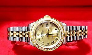 Rolex Datejust 18K Gold & SS Ladies with Rolex  Certificate Mona Vale Pittwater Area Preview