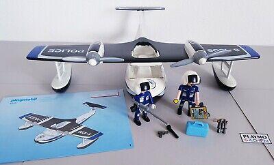 Playmobil 4445 Wasserflugzeug Police Waterairplane Airplane mit Anleitung