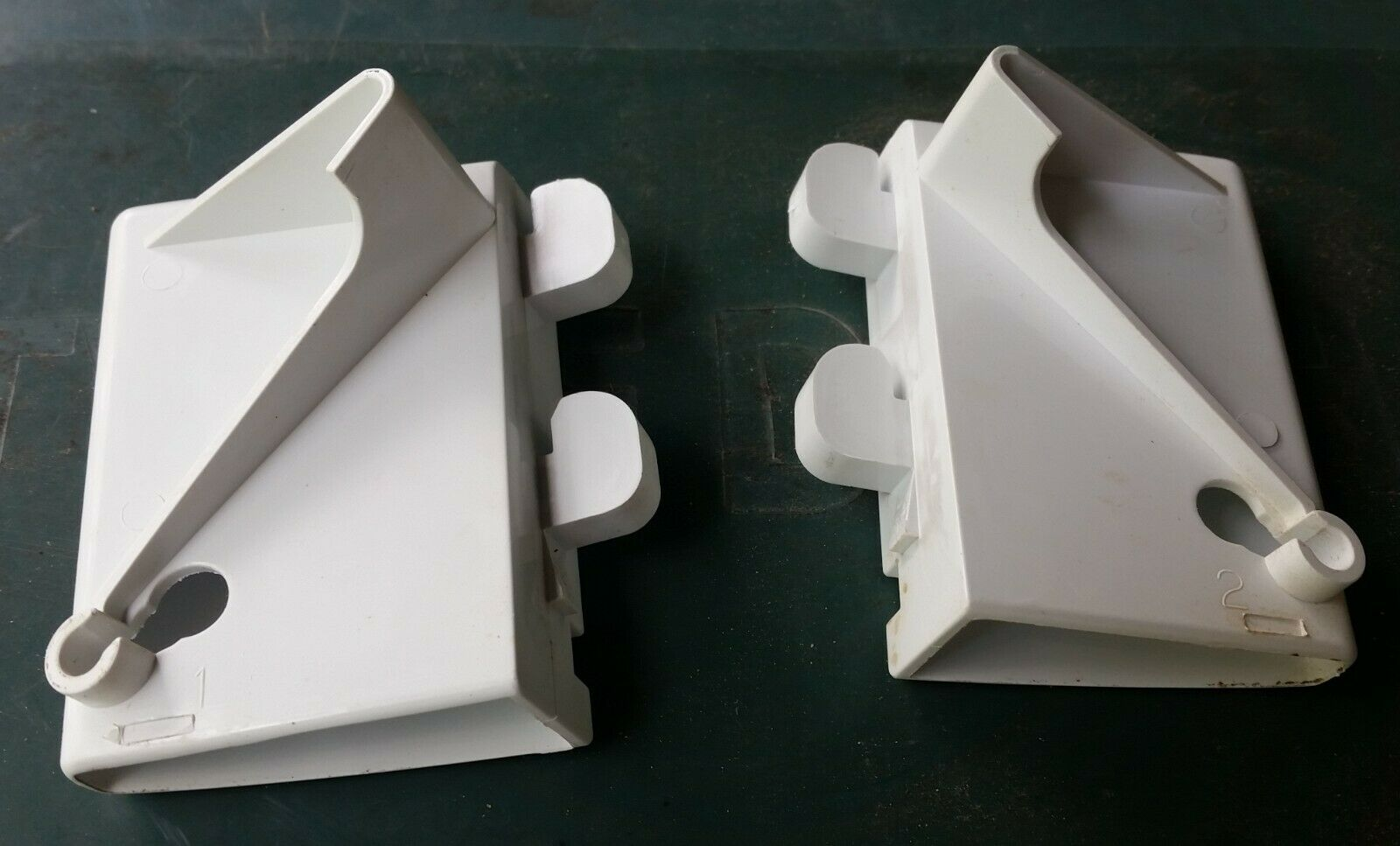 JENN-AIR Refrigerator Freezer Door Basket  STOP  Left & Right  Part # 61003753