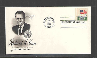 1969 PRESIDENT RICHARD M NIXON UNADDRESSED INAUGURATION DAY COVER