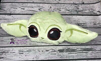 The Mandalorian Baby Yoda Stuffy Animal Plush (very soft fabric)
