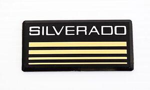 New Chevy Silverado 1500 2500 3500 emblem badge pillar 1988 89 90 91 92 93 94