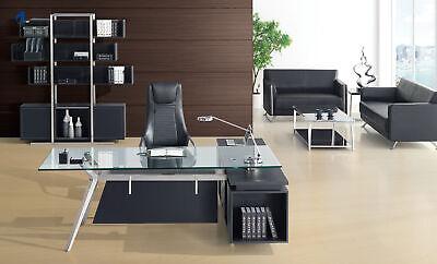 Mobiliario de Oficina Set Escritorio+Armario Archivador Diseño Estante Moderno