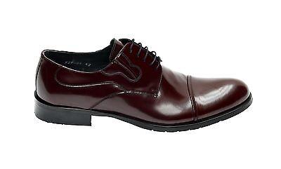 Echtleder Herren Schuhe Gr.41 Bordeaux