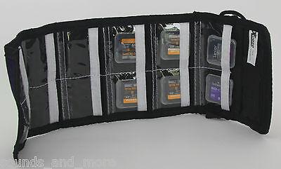 Speicherkartentasche für 12 SD Speicherkarten Tasche  -  NEU