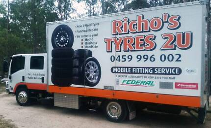Mobile Tyre Fitting Service: We come to you: New & Used Tyres