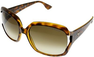 Emporio Armani Sunglasses Women Brown Havana Square EA9708 79I
