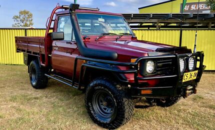 1998 TURBO DIESEL 4.2 75 Series Landcruiser Ute Ashmore Gold Coast City Preview