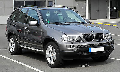 The BMW X5 is powerful and robust.