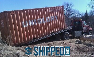On Sale 20 Ft Used Shipping Container Secure Storage We Deliver - Atlanta Ga