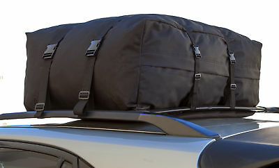 Roof Top Cargo Rack Carrier Soft Padded Waterproof Luggage Travel CAR SUV VAN