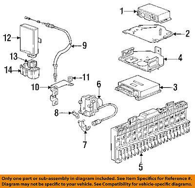 PORSCHE OEM 93-95 928 5.4L-V8-Control Module 928618123GX