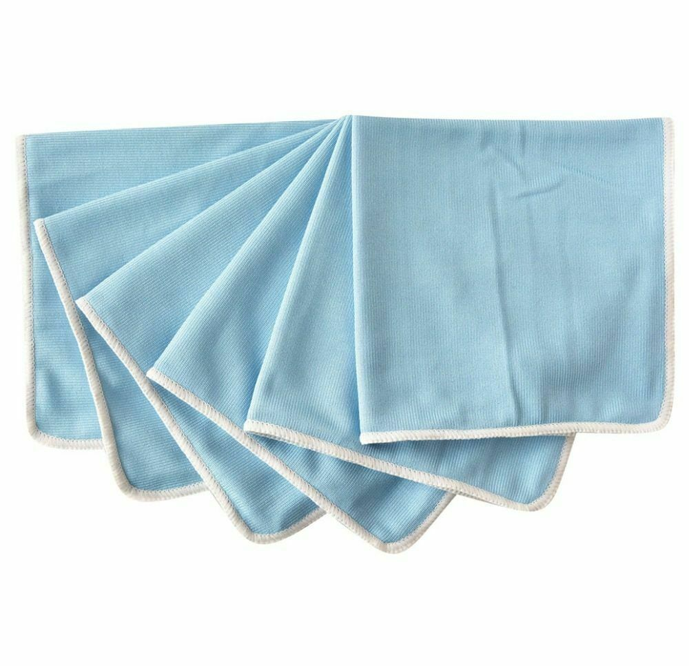 Microfiber Towels For Glass Window Windshield Cleaning Cloth