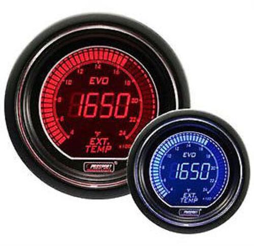 Prosport Evo Series 52mm Digital EGT Exhaust Gas Temperature Gauge (400-2400F)