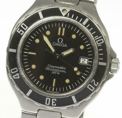 OMEGA Seamaster 200m Date W Buckle Quartz Men's Watch_496758
