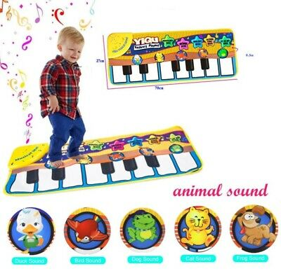 Kids Baby Musical Piano Play Mat Development Educational Soft Toys for Boy Girl - Educational Kids Toys