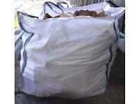 A bulk builders bag of Seasoned Hardwood cut to fit most woodburners.