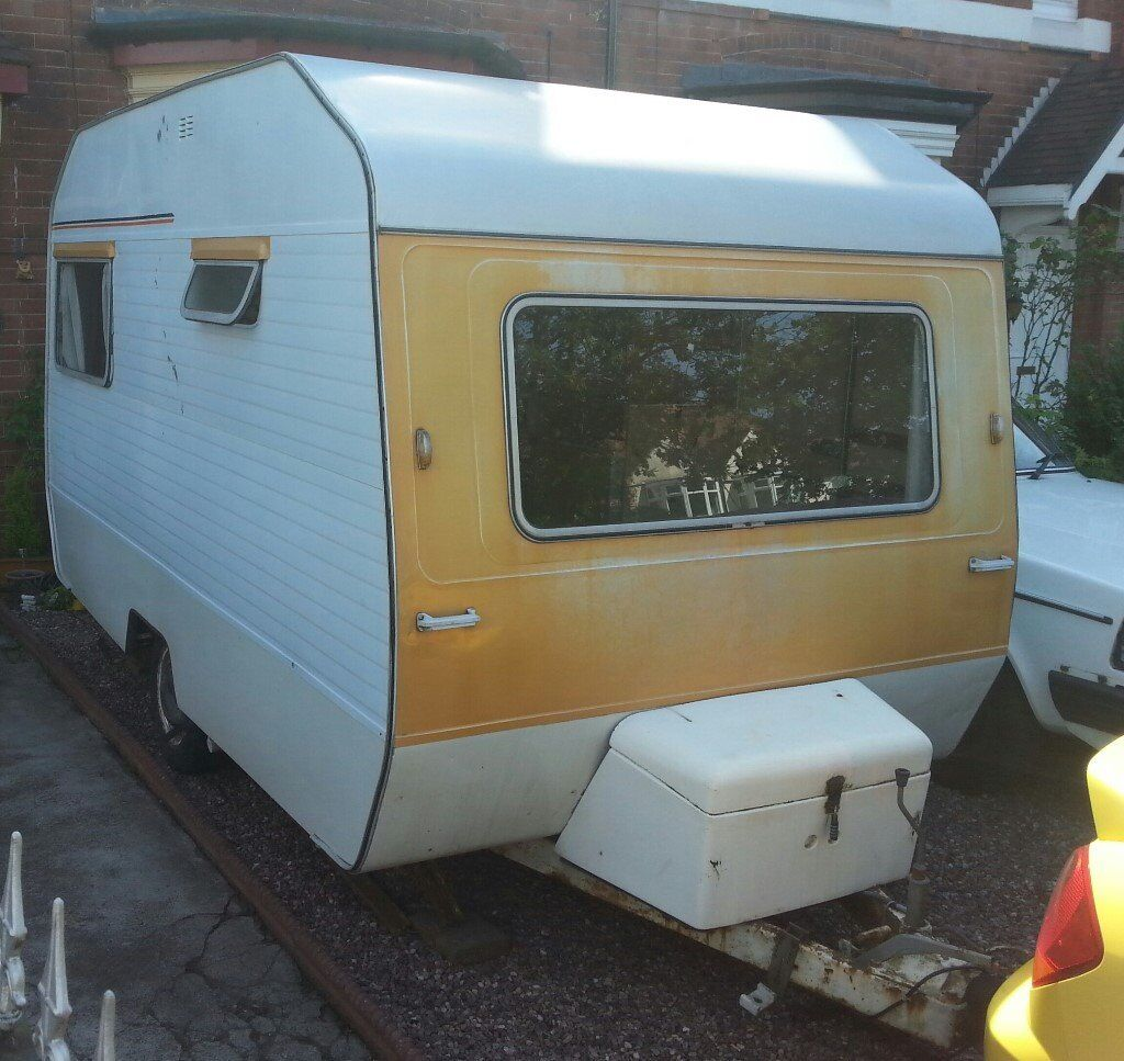 Seventies Vintage Classic 1974 Sprite Alpine 4 Berth Caravan